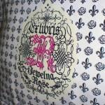 ジュエルナローズBAG。フルール&黒バラ柄がゴシックキュート!