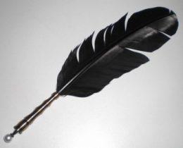 【ゴシックな筆記用具】黒の羽根ペンをついに入手・・・!