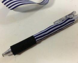 ペンがつまらなかったのでDIY★ちょっぴりゴスかわ仕様に