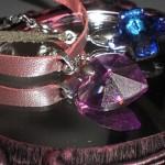 ゴシックチョーカー「ヘリオトロープ」青紫石のネックレスをDIY♪