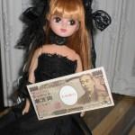 ゴシックリカちゃん、富豪遊びを覚える~「お金もちってステキね!」